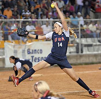 「アメリカ女子ソフトボール」の画像検索結果